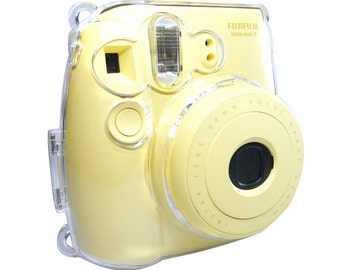 Fujifilm Instax Mini 8 9 Camera Case Crystal Clear Transparent Protection