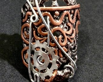 Steampunk Finger Armor