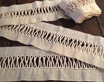 """44"""" Upholstery Trim with Twisted Cotton Rope Design"""