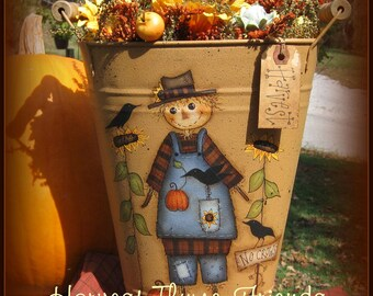 Haunted Thyme Friends - Painted by Sharon Bond, Painting With Friends E Pattern