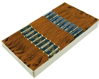 24 Docking Embroidery/Stick twist #7872 Carob Brown