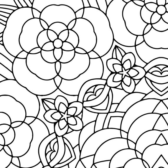 Ziemlich Blumengarten Malvorlagen Bilder - Dokumentationsvorlage ...