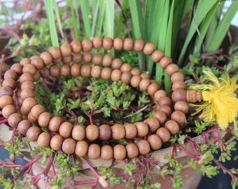 Wooden Japa Beads 108 Prayer Mala Nepal