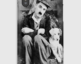 Case for iPhone X 8, 8 +, 7, 7 +, 6s, 6, 6s +, 6, 5 c, 5, 5s 5SE, 4s, 4, Charlie Chaplin