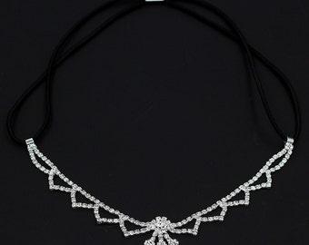 Great Gatsby Art Deco Rhinestone Headband,Bridesmaid Rhinestone Headpiece,Prom Headpiece,Wedding Accessories