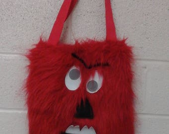 Small Red Monster Bag