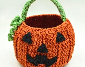 Pumpkin Bag - PDF Crochet Pattern - Instant Download
