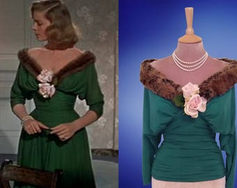 Lauren Bacall...How to marry a millionaire.