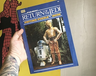 Star Wars: Return of the Jedi picture puzzle book (Vintage - 1983)