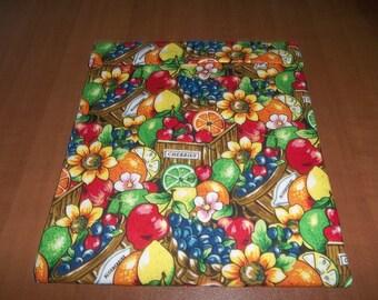 Microwave Potato Bag, Potato Bag, Large, Berries, Fruit, Baked Potato Bag, Potato Sack, Handmade, Kitchen Utensil, All Cotton