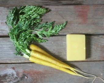 Organic Carrot Soap W'SUP DOC-Handmade Soap-Palm Free Soap