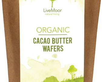 Organic Cacao Butter Wafers - 400g