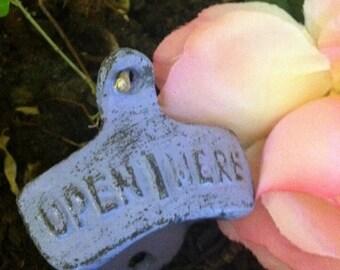 Bottle Opener/ Cast Iron Bottle opener/ HarDWAre IS inCLUded/ Barware Decor