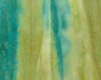 watercolor strips blue/cream, 1/2 yd