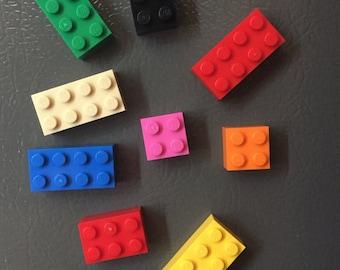 Lego Brick Fridge Magnet