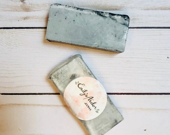 Activated Charcoal Facial Bar Soap