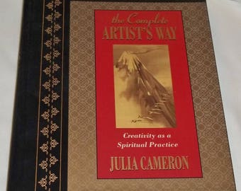 """Book """"The Complete Artist's Way"""", Julia Cameron, LIKE NEW, Hardcover, BK22"""