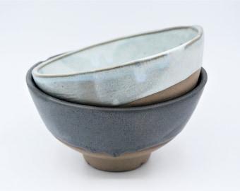 Handmade ceramic bowl, Noodle bowl, housewarming gift, Decorative ceramic bowls, Wedding gift, Table decor, Anniversary gift, Salad bowl set