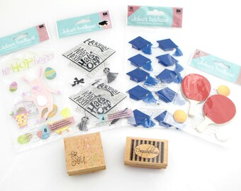 Stickers And Rubber Stamps. Detash. Sale.
