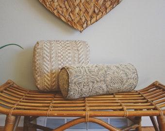 vintage bolster velvet lumbar pillow cover vintage throw pillow neutral throw pillow boho decor neutral lumbar pillow cover velvet pillows