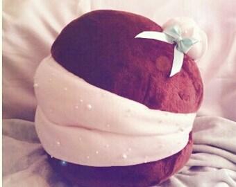 Ultra soft HUGE macaroon pillow/plushie