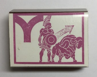 Vintage Unused ARIES Astrological Sign Rubber Stamp