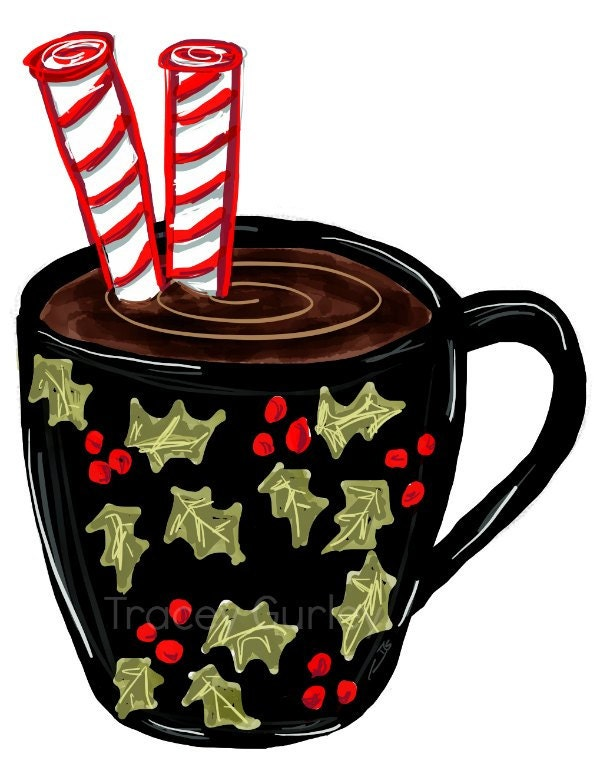 hot chocolate clipart hot chocolate mug christmas crafts rh etsy com hot chocolate clipart png hot chocolate clipart black and white