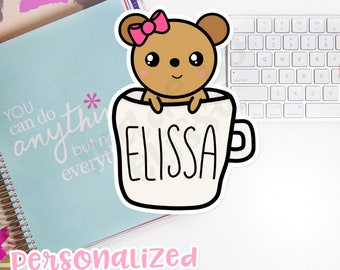 DIGITAL Personalized Lucy Cup // Digital Download