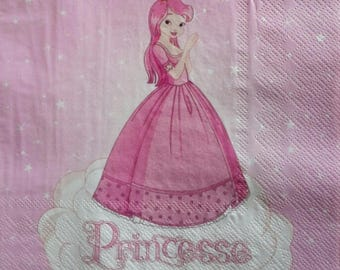 Princess 1 lunch size paper towel 507