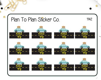 1142~~Road Trip Planner Stickers.