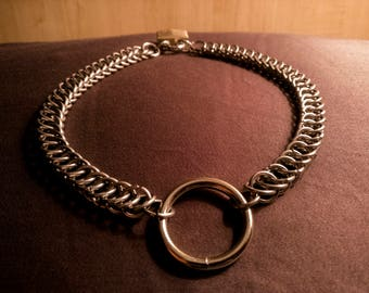 Half Persian 4 in 1 necklace/choker/collar stainless steel