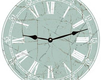 Classic Seafoam Wall Clock
