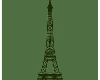 Tour Eiffel fine art giclée print