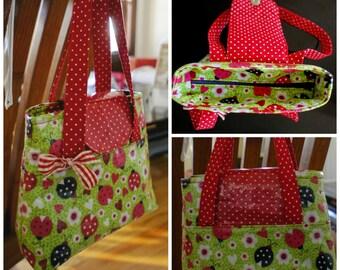 Girls Tote Bag - PDF Sewing Pattern