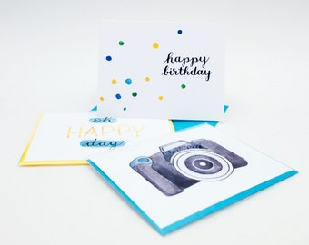 Mix and Match Card Set / Choose Your Own Greeting Cards / Choose any 8 / Handmade Greeting Cards