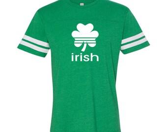 Irish Sports Pride Ireland St Patricks Day Men's Football Jersey DT0432
