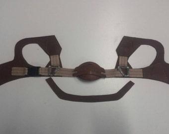 Ninja Helmet Leather straps