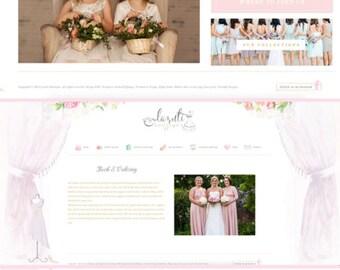 Custom Website Design, Blog & Portfolio Package, photography website, custom portfolio website, custom blog design, custom wordpress website