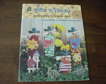 Vintage 1997 Bits 'n Pieces Everyday Jars, Tole Painting Book, Provo Carft, Country Painting, Wood Designs, Decorative Painting