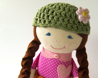 Custom Cloth Doll Personalized Rag Doll