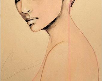 Paolo Roversi Series 2 - Fashion Illustration Art Print