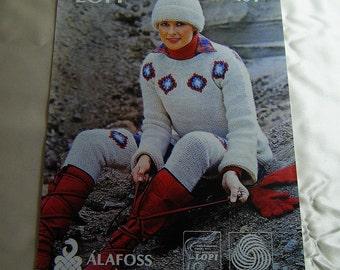 ALAFOSS of Iceland Lopi Wool Knitting Pattern 101 - Original not digital copy