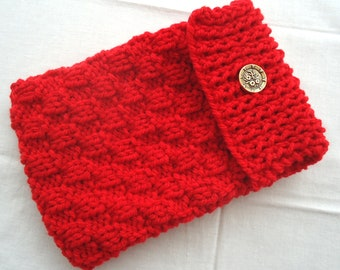 i Pad // Pouch // Sleeve // Bag // Sock // Cover // Hand Knitted