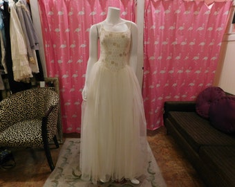 1960's Alfred Angelo/ Prom/ Wedding/Evening wear/ Home coming/