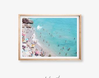 Beach Art Print, Beach Printable Art, Beach Photo Print, Coastal Print, Nature Poster, Beach Wall Art, Beach Print, Ocean Wall Print