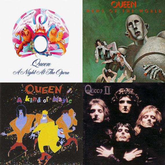 Queen Album Cover Stone C...