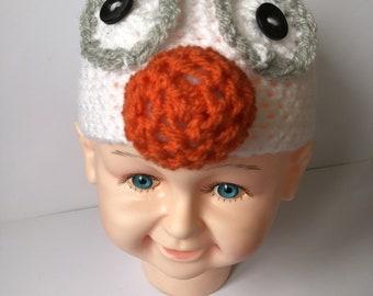 Frozen  Olaf beanie hat