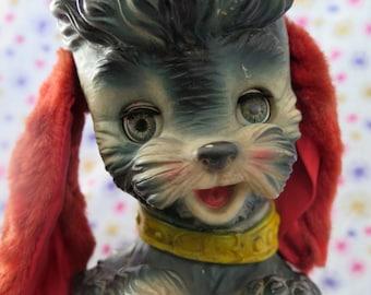 Edward Mobley Poodle, 1960 Bon Bon, arrow rubber and plastics corp. squeak rubber toy