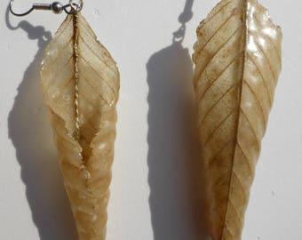 Solid Leaf jewellery