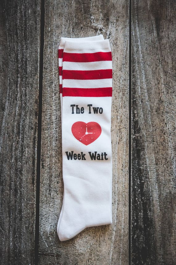 Two Week Wait Socks, TWW, IVF socks, IUI Socks infertility